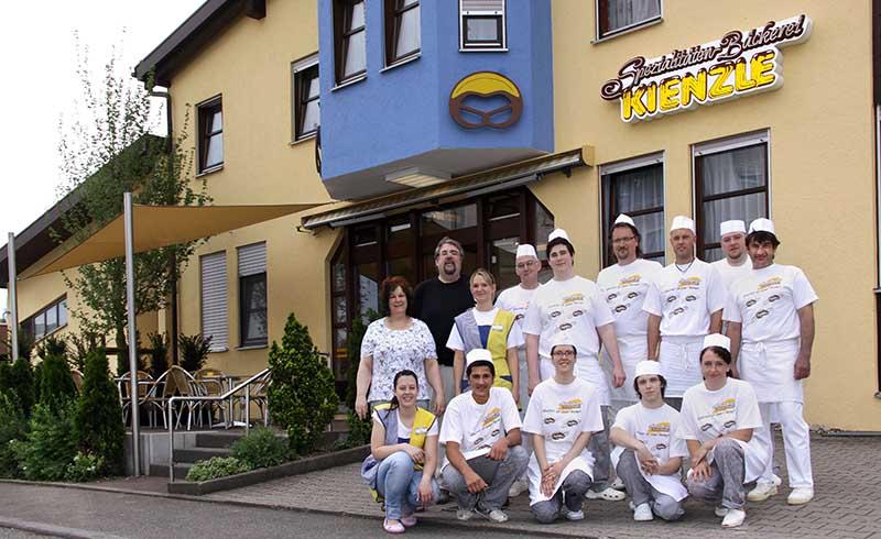 Ein Teil des Teams in der Gaußstraße